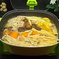 养生火锅#利仁火锅节#的做法图解5
