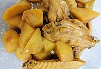 红烧鸡翅炖土豆的做法