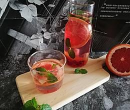 #夏日冰品不能少#西柚水果茶的做法