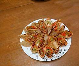 香香干豆腐卷