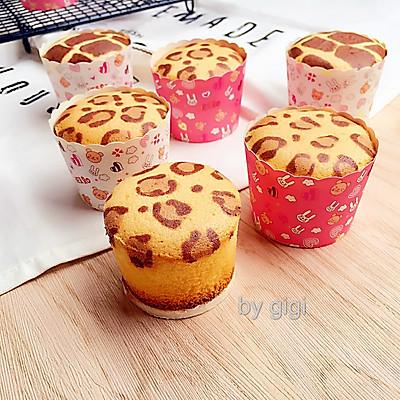 豹紋煉乳杯子蛋糕(不爆裂 不回縮)
