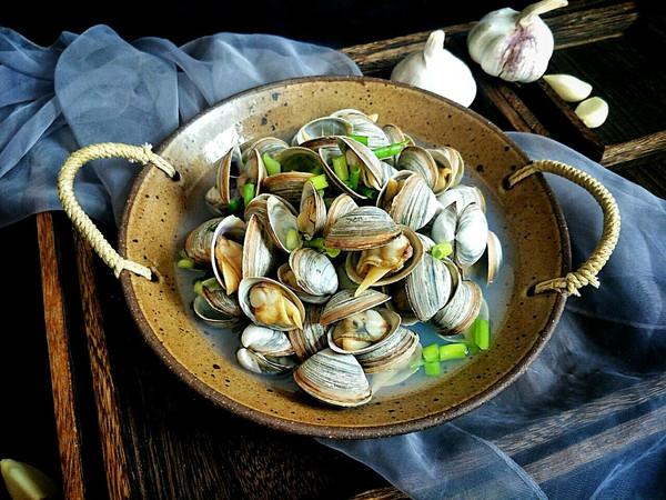 春季鲜鲜口感:清水煮白蛤的做法
