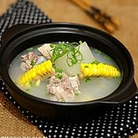 冬瓜玉米排骨湯的做法圖解6