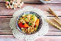 #做道懒人菜,轻松享假期#土豆排骨焖饭的做法