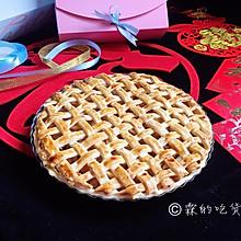 #新年自制伴手礼,红红火火一整年!#肉桂苹果派