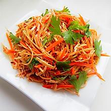 胡萝卜凉拌云丝