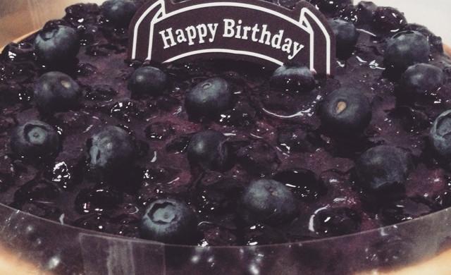 蓝莓重芝士蛋糕