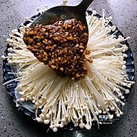 蒜蓉粉丝金针菇的做法图解7