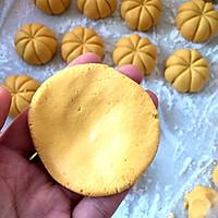南瓜粘豆包的做法图解4