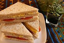 全麦三明治的做法