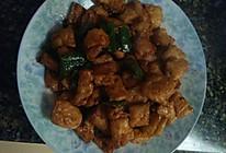青椒炒油豆腐的做法