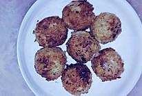 焦香可乐球(法式小面包做面包糠版)的做法