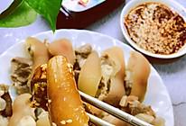 白切沙姜猪手的做法