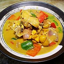 咖喱栗子鸡