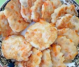 蔬菜鲜虾饼的做法