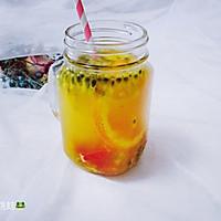 西柚百香果柠檬茶的做法图解11