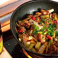 #金龙鱼营养强化维生素A纯香 新派菜籽油#干锅排骨的做法图解9
