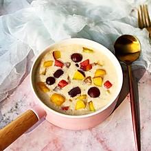 酸奶芋圆水果捞