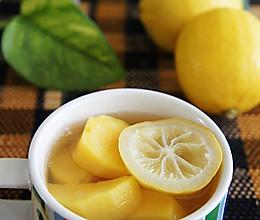 柠檬红薯淡斑煮的做法