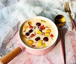 酸奶芋圆水果捞的做法