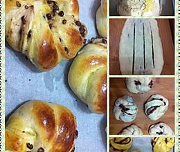 新手进阶之红豆面包(ACA面包机揉面版)的做法