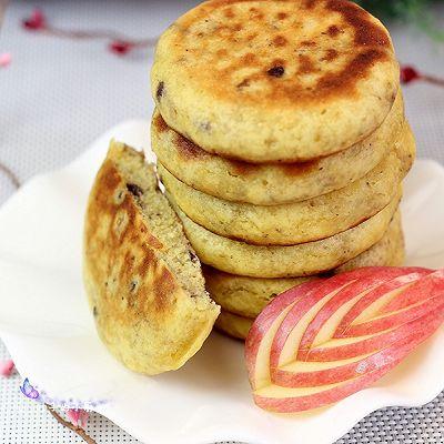 利仁电饼铛试用之蓝莓黄豆面贴饼子