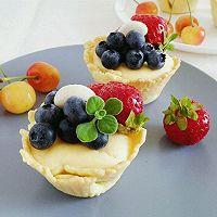 脆皮蓝莓奶酪挞#我动了你的奶酪#的做法图解9