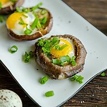 #快手又营养,我家的冬日必备菜品# 一口一个超鲜美的香菇酿蛋