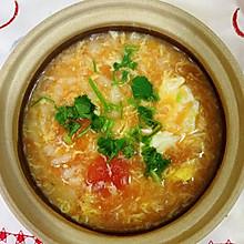 【家常菜】番茄鸡蛋疙瘩汤