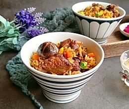 #肉食者联盟#排骨焖饭的做法