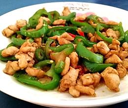 青椒炒鸡胸的做法