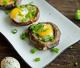 #快手又营养,我家的冬日必备菜品# 一口一个超鲜美的香菇酿蛋的做法