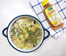 #太太乐鲜鸡汁玩转健康快手菜#丝瓜蛋汤—家常菜秒变高大上的做法
