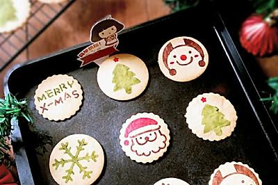 圣诞节【印花饼干】