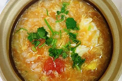 【家常菜】番茄雞蛋疙瘩湯