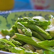 芦笋炒百合
