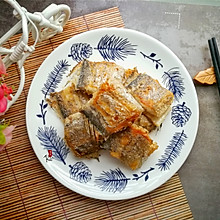 椒盐香煎带鱼