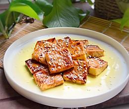 #夏天夜宵High起来!#照烧烤豆腐的做法
