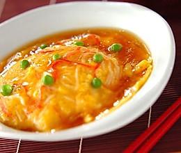 日式天津饭 天津丼 蟹玉的做法
