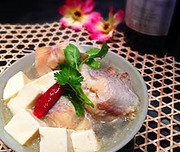 明太鱼炖豆腐的做法