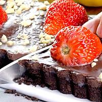 免烤草莓巧克力塔的做法图解5