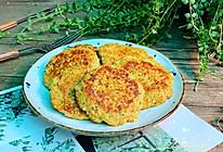 #合理膳食 营养健康进家庭#低脂健康的时蔬鸡肉饼的做法