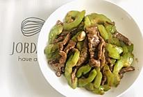 黑椒牛柳炒苦瓜,清火又营养
