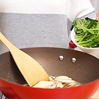 菠菜蘑菇奶酪蛋饼-迷迭香的做法图解5