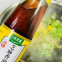 #太太乐鲜鸡汁芝麻香油#鸡蛋炒乌冬面的做法图解14