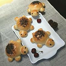 《核桃花生奶香小金龟营养面包》自创