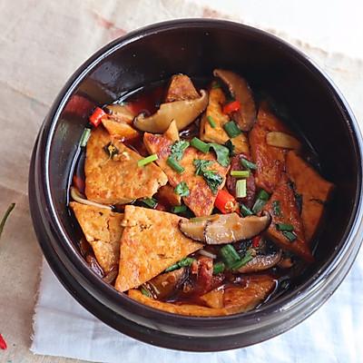家常香辣豆腐煲