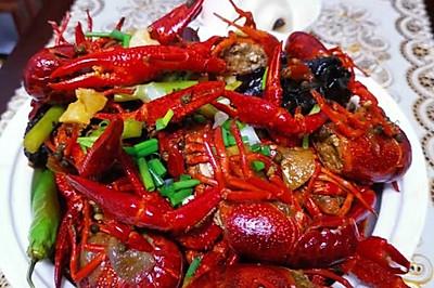 可调节辣度的麻辣小龙虾