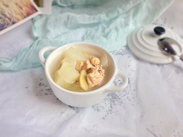 清湿热补阴虚:冬瓜瑶柱排骨汤的做法