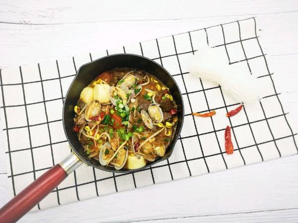 没有锡纸的锡纸蛤蜊粉丝汤的做法